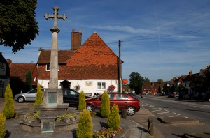 The lovely village of Bletchingley.