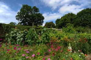The spectacular gardens at Batemans the former home of Rudyard Kipling.