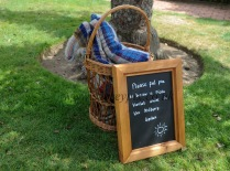 Help yourself to a picnic towel at Batemans the former home of Rudyard Kipling.